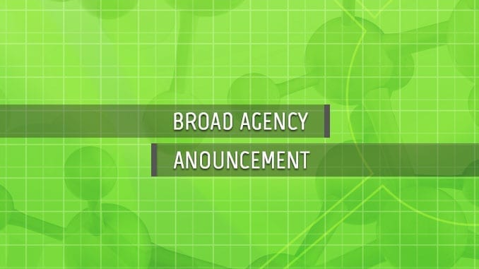 Biodefense Broad Agency Announcement