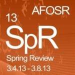 AFOSR Spring Review