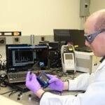 ECBC Scientist Test Spectroscopy Equipment for Chemical Detection