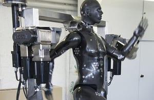 Porton Man robot to test CBRN Equipment