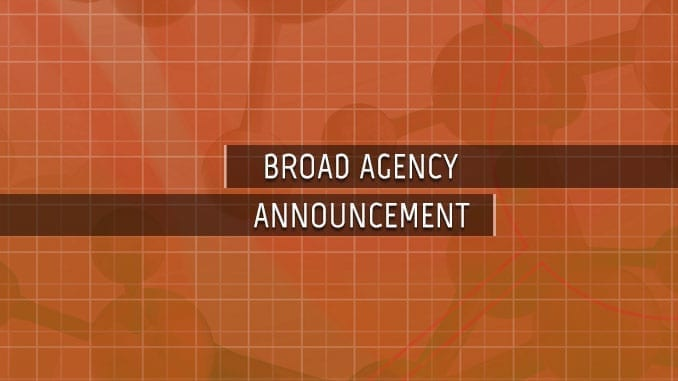 BAA Broad Agency Announcements