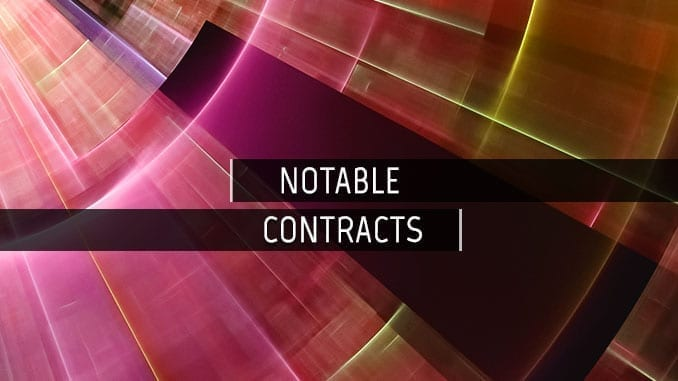 Notable CBRN and Biodefense Contracts