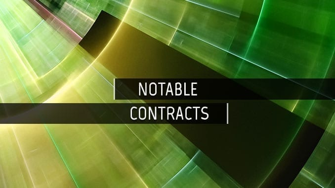 Notable Biodefense Contracts