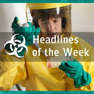 Global Biodefense News BSL 4 Worker
