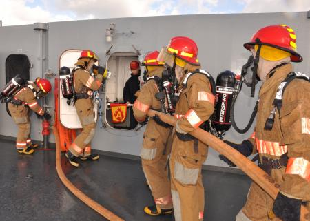 Navy Firefighter Technologies