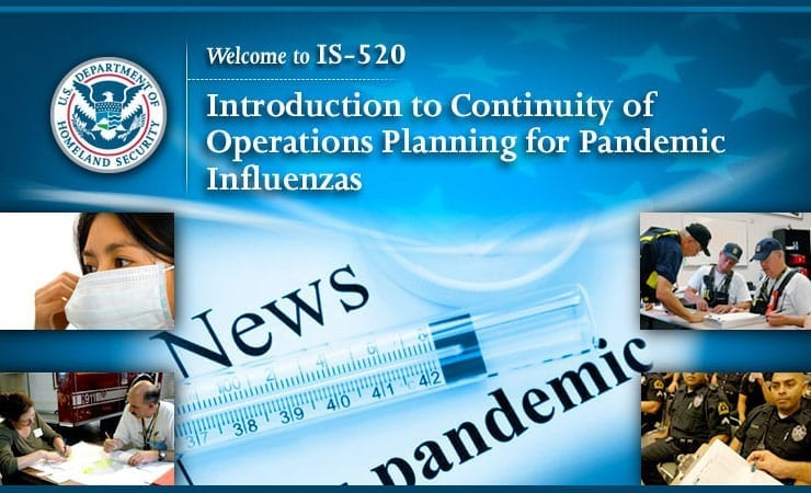 Pandemic Influenza Online Course