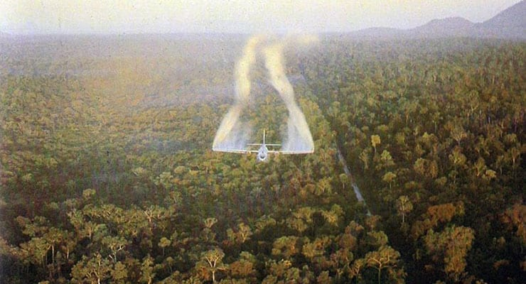C-123 Spraying Agent Orange in Vietnam