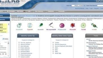 EuPathDB Eukaryotic Pathogen Database