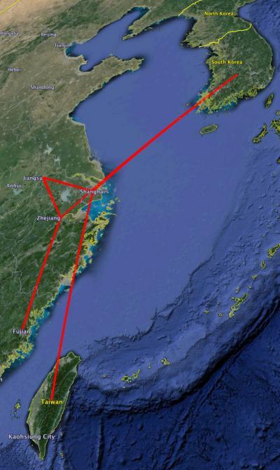 H7N9 HA Gene Map Routemap
