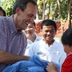 U.S. Ambassador Visits Malaria Clinic in Cambodia
