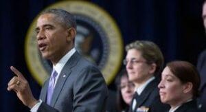 President Obama Thanks Navy Personnel for Ebola Mission