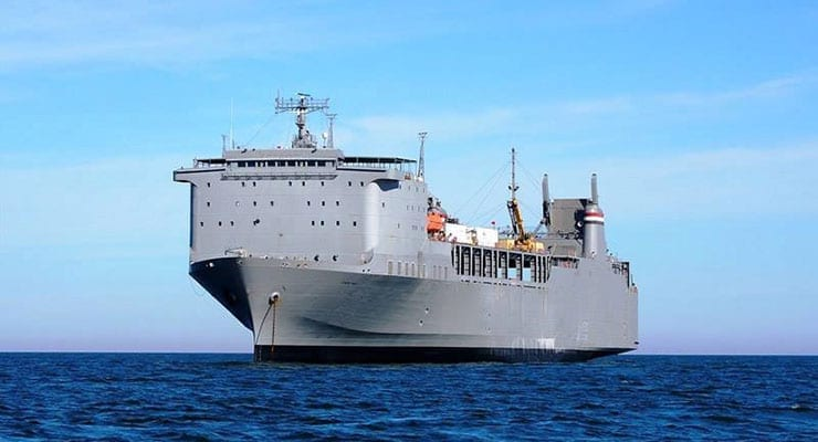 MV Cape Ray Chemical Weapons