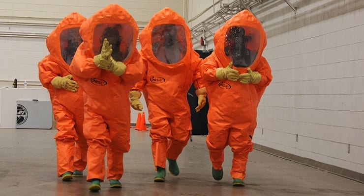 CBRN PPE Training Exercise - Air National Guard