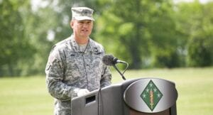 Brig. Gen. William E. King IV, 20th CBRNE Command