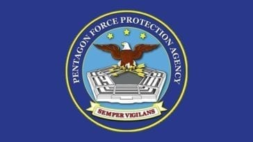 PFPA Pentagon Force Protection Agency Logo