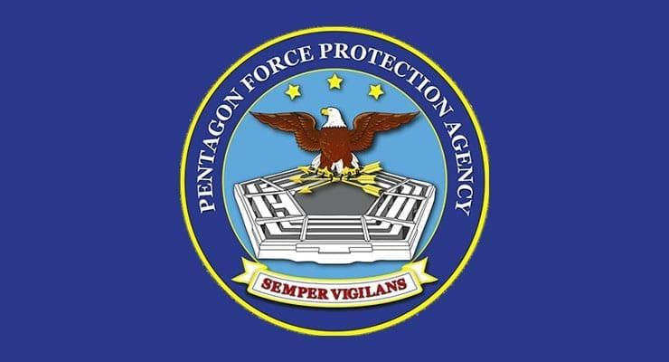 PFPA Pentagon Force Protection Agency Logo