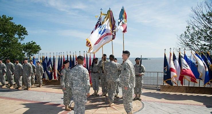 1st AML Change of Command Ceremony