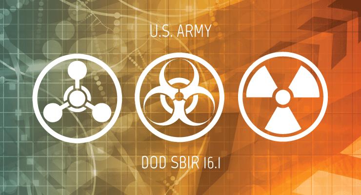 U.S. Army Small Business Innovation for CBR