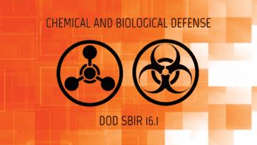 Chemical and Biological Defense DoD SBIR