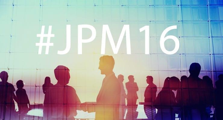 JP Morgan 2016 Healthcare Conference