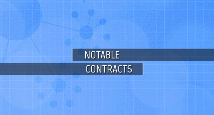 Notable Biotechnology Contracts