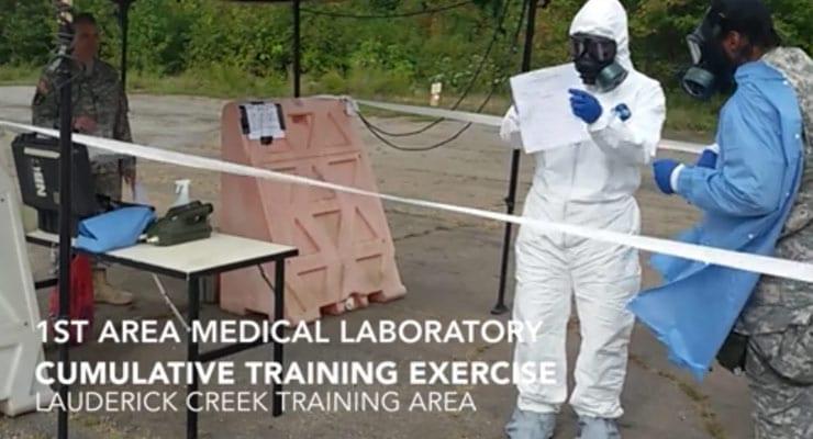 1st Area Medical Laboratory Training Exercise