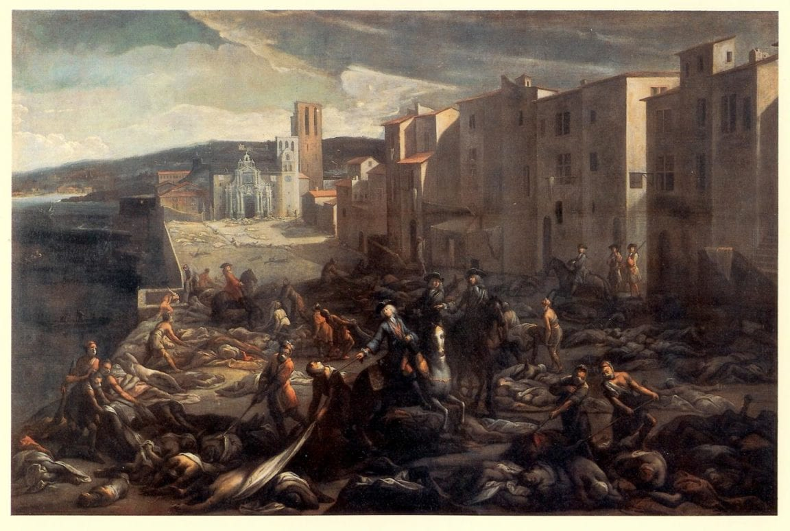 Marseille during the Great Plague of 1720