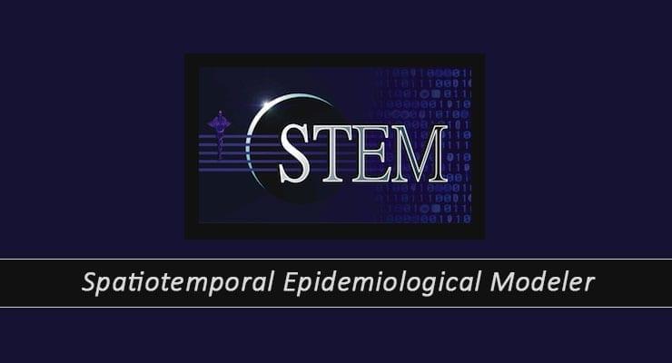 Spatiotemporal Epidemiological Modeler STEM Logo