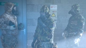 US-European CBRN Training