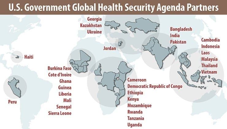 DoD Global Health Security Agenda Partners