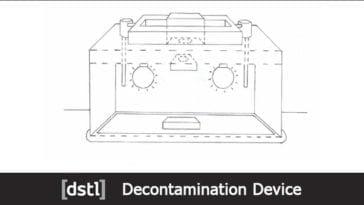Dstl Decontamination Device