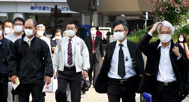Swine Flu Outbreak in Japan