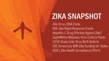 Zika Virus News Snapshot