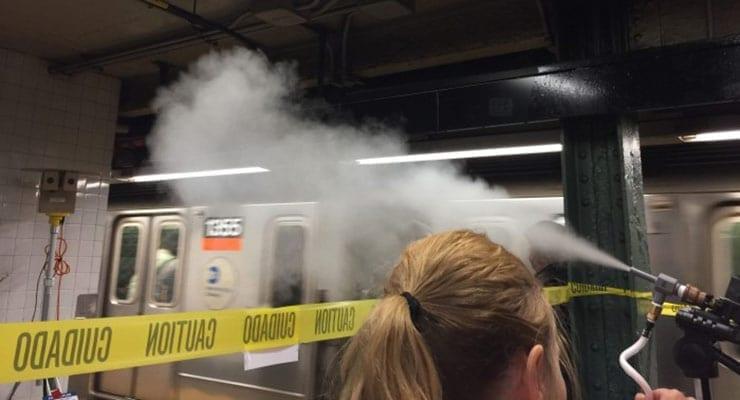 NY Subway Aerosol Biodetection