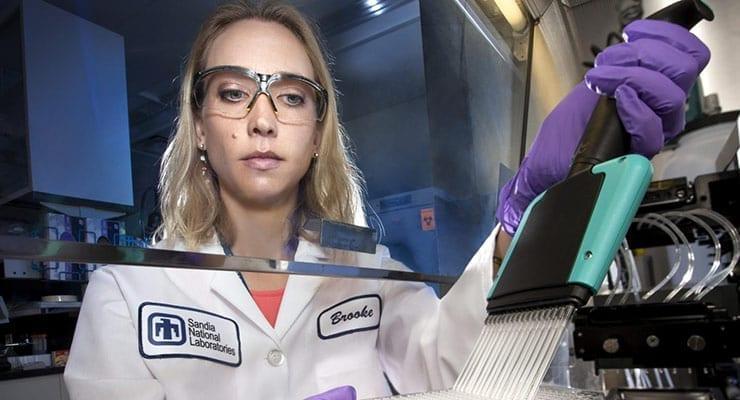 Sandia Researcher Brooke Harmon
