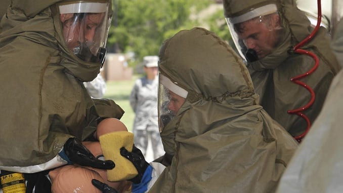 CBRN Decon Exercise - 22 Medical Group