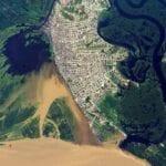 Iquitos, Peru Satellite Image