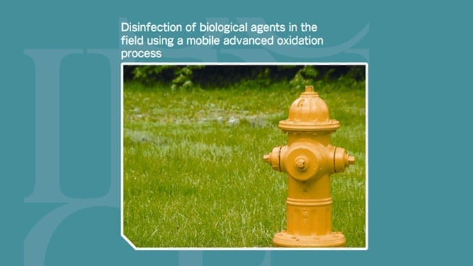 Biological Disinfection of Wash Water