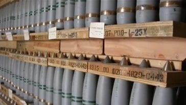 Chemical Weapons Awaiting Destruction