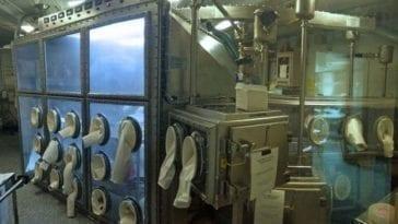 Anthrax Decontamination in Subway System
