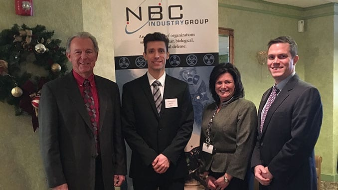 Battelle Researcher Honored with NBC Defense Leadership Award