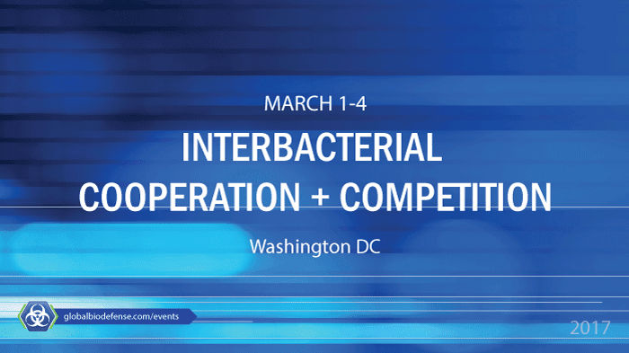 ASM Interbacterial Cooperation and Competition