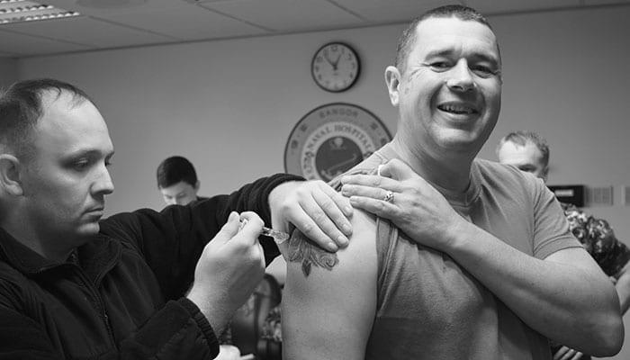 Navy Hospital Bremerton Mass Vaccination Campaign