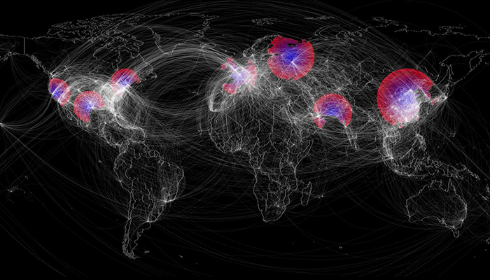 Flu Pandemic - Global Spread