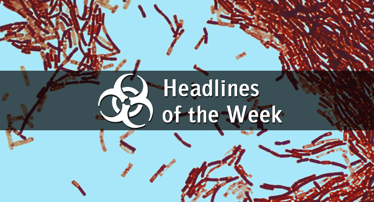 News on Biodefense, Biosecurity, Infectious Disease Outbreaks