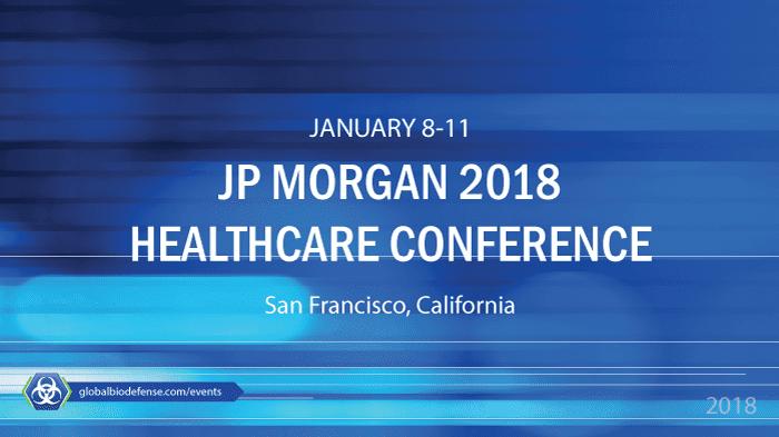 J P  Morgan Annual Healthcare Conference 2018