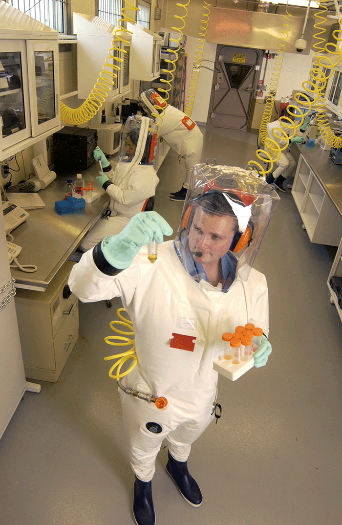 Biosafety Level 4 Laboratory at Texas Biomed