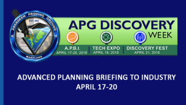 APG Advanced Planning Briefing to Industry (APBI) 2018