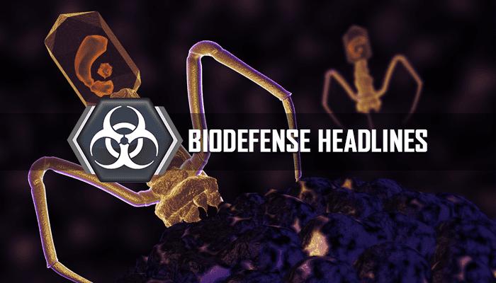 Biodefense Headlines - Bacteriophage