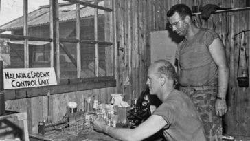 Malaria and Epidemic Control Unit in Saipan 1940s